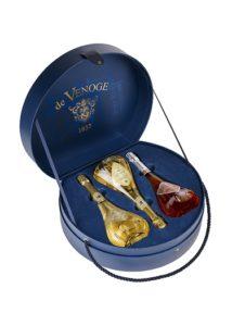 CHAMPAGNE DE VENOGE COFFRET CADEAU TRIO DE CUVEES LOUIS XV MILLESIMMEES DIT COFFRET 290 POINTS ROBERT PARKER