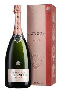 Champagne Bollinger Brut Rosé en étui Magnum 150 cl