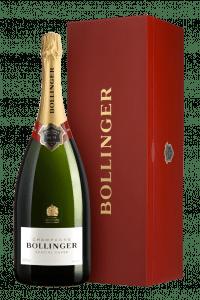 Champagne Bollinger Spécial Cuvée Jéroboam en coffret bois 300 cl