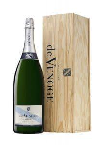 Champagne De VENOGE_Cordon Bleu Brut en Caisse Bois