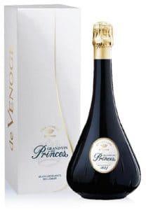 Champagne de Venoge Grand Vin des Princes Blanc de Blancs millésime 2014