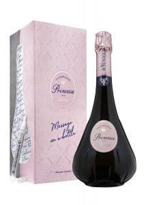 Champagne de Venoge Rosé Brut -Coffret message on a bottle